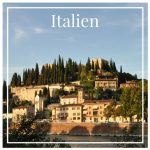 Italien - Verona, Castel San Pietro
