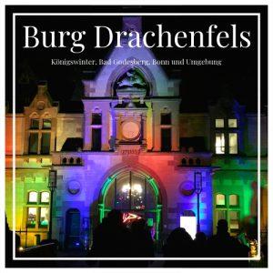 Burg Drachenfels, Königswinter, Bad Godesberg, Bonn, Deutschland, Charming Family Escapes