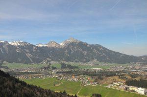 Ausblick von der Burgruine Ehrenberg