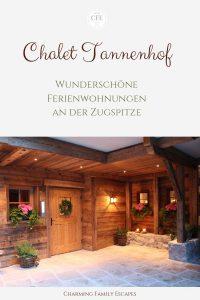 Chalet Tannenhof - Wunderschöne Ferienwohnungen an der Zugspitze