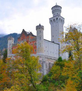 Schloss Neuschwanstein Großaufnahme