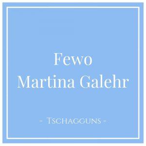 Fewo Martina Galehr, Tschagguns, Montafon, Österreich