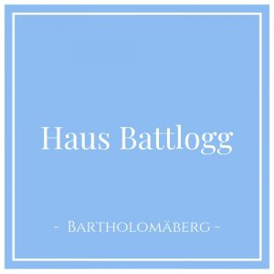 Haus Battlogg, Bartholomäberg, Montafon, Österreich