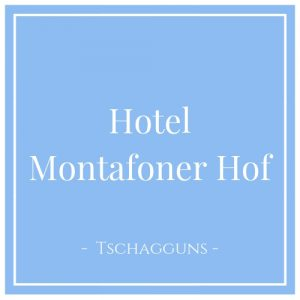 Hotel Montafoner Hof, Tschagguns, Montafon, Österreich