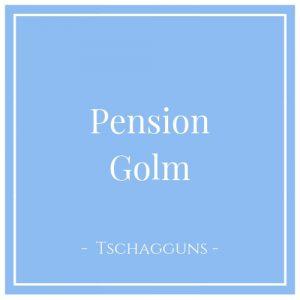 Pension Golm, Tschagguns, Montafon, Österreich