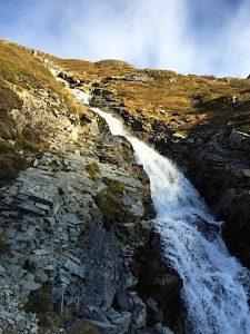 Bachlauf am Silvretta-Stausee
