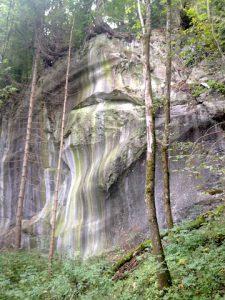 Montafon - Gesicht in Stein