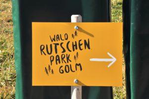 Montafon - Wald Rutschen Park Golm