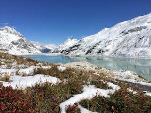 Silvretta Stausee im Winter 1