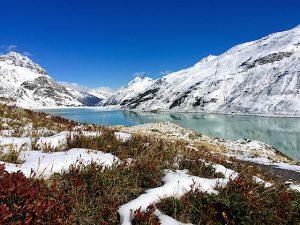 Silvretta-Stausee im Winter
