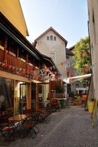 Feldkirch - Cafe Johanniterhof