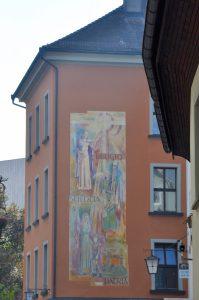 Feldkirch - Haus mit Fresco
