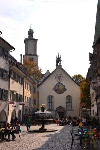 Feldkirch - Marktgasse mit Johanniterkirche