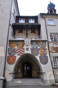 Feldkirch - Rathaus Eingang