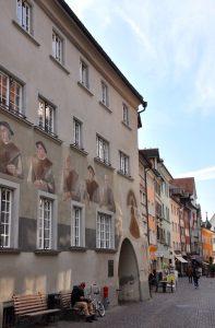 Feldkirch - Rathaus Seitenansicht