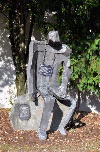 Feldkirch - Skulptur 'Der Ruhende'