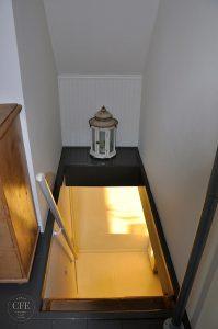 Het Dijkhuisje - Treppenaufgang