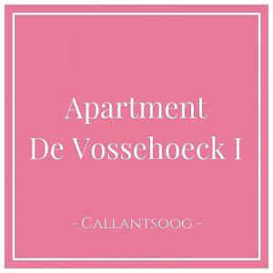 Apartment De Vossehoeck I, Callantsoog, Holland