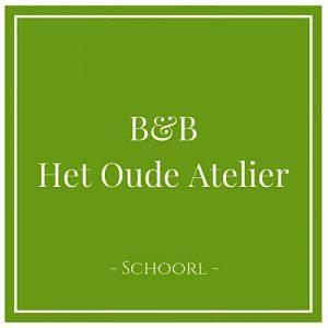 B&B Het Oude Atelier, Schoorl, Holland