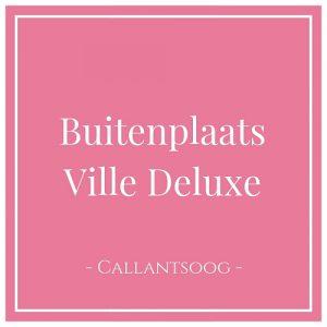 Buitenplaats Villa Deluxe, Callantsoog, Holland