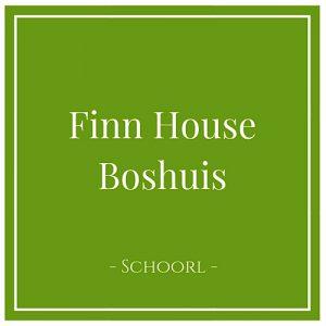 Finn House Boshuis, Schoorl, Holland