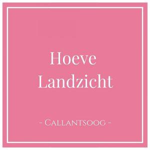 Hoeve Landzicht, Callantsoog, Holland