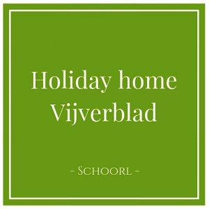 Holiday home Vijverblad, Schoorl, Holland