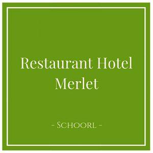 Restaurant Hotel Merlet, Schoorl, Holland