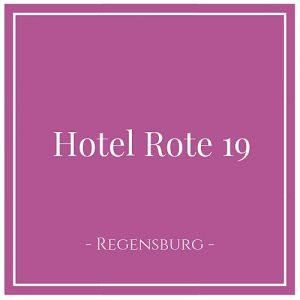 Hotel Rote 19, Regensburg, Deutschland