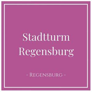 Stadtturm Regensburg, Regensburg, Deutschland