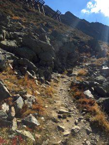 Wanderweg zur Wormser Hütte im Montafon