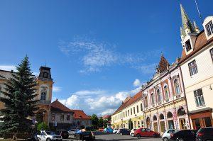Altstadt von Mediasch, Siebenbürgen, Rumänien