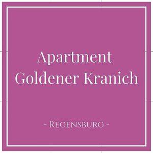 Apartment Goldener Kranich, Regensburg, Deutschland