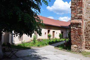 Apartments in der Kirchenburg von Frauendorf, Axente Sever, in Siebenbürgen, Rumänien