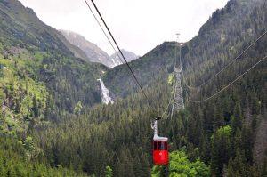 Cascada Balea, Balea Wasserfall an der Transfagarasan