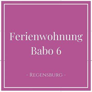 Ferienwohnung Babo 6, Regensburg, Deutschland