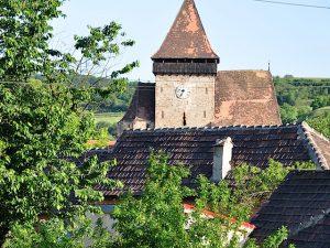 Kirchenburg in Frauendorf, Axente Sever, in Siebenbürgen, Rumänien