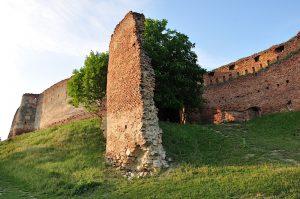 Siebenbürgen - Ruinen der Stolzenburg in Rumänien