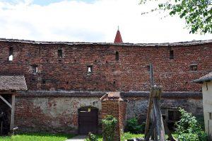 Wehranlagen in der Kirchenburg von Frauendorf, Axente Sever, in Siebenbürgen, Rumänien