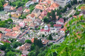 Kronstadt-Brasov Blick vom Hausberg
