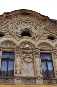 Kronstadt-Brasov Gebäude Schuh Warenhaus