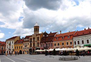 Kronstadt-Brasov Marktplatz