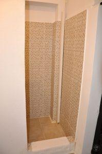Astra Apartment, große Wohnung - Dusche