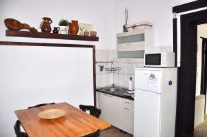 Astra Apartment, große Wohnung - Küche