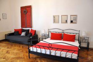 Astra Apartment, große Wohnung - Schlafzimmer 2 (b)
