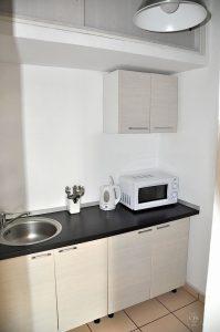 Astra Apartment, kleine Wohnung - Küchenzeile