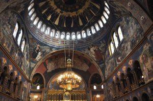 Innenansicht der Orthodoxen Kirche von Hermannstadt, Sibiu