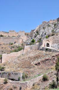 Akrokorinth, antikes Korinth, Peloponnes, Griechenland