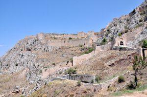Anktikes Korinth - Akrokorinth, Peloponnes, Griechenland
