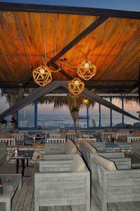 Bar in Kourouta, Peloponnes, Griechenland